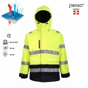 waterproof-winter-jacket-pesso-montreal-hi-vis kollane
